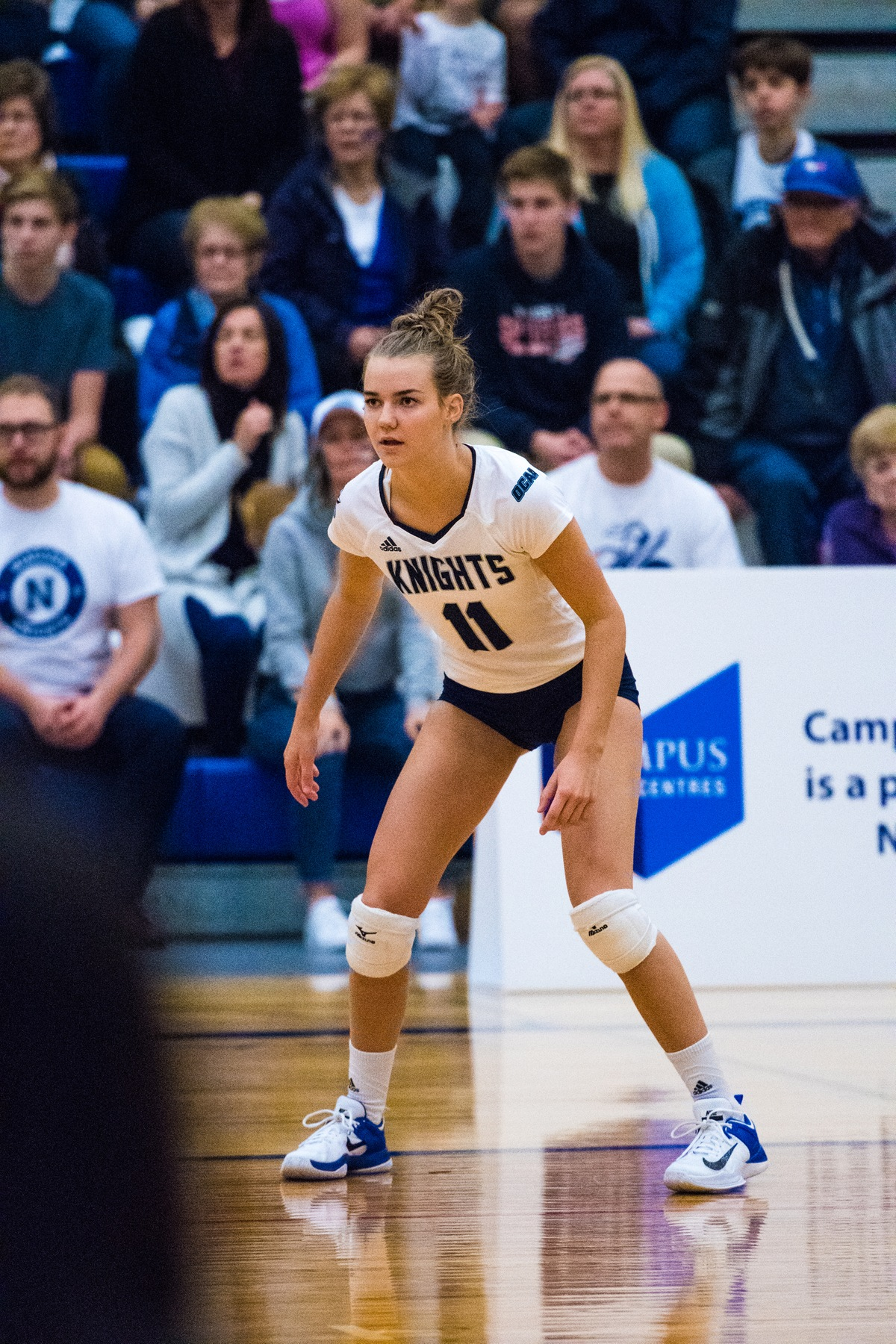 RECAP: Knights improve to 3-1 with straight set victory over Conestoga