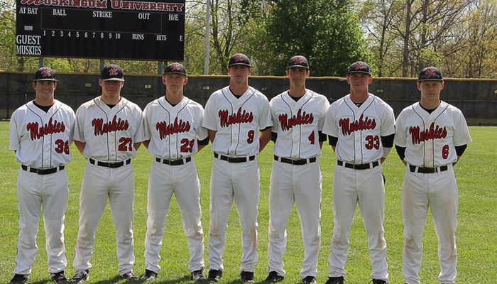 Baseball celebrates Senior Day
