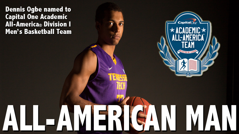 Ogbe named to Capital One Academic All-America® Division I Basketball Team