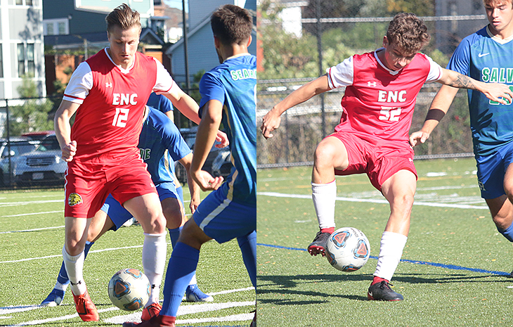Men's Soccer Sweeps NECC Weekly Awards for Second-Straight Week