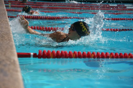 Stags and Athenas Fare Well At Pentathlon