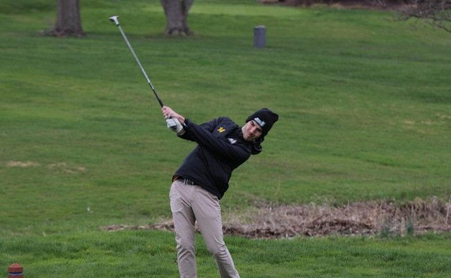 Tom Reynolds shot an 86 on Wednesday in the Keuka College Spring Invitational