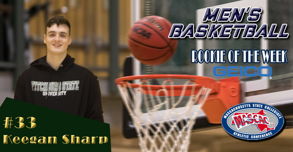 Sharp Named MASCAC Men's Basketball Rookie Of The Week