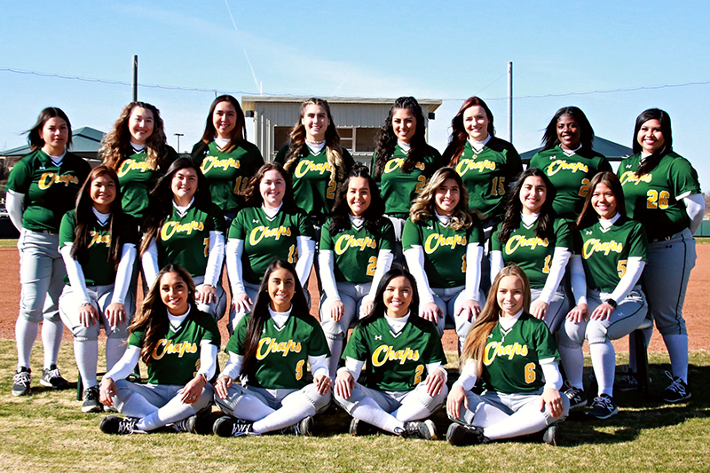 Lady Chaparral Softball Hosts Western Texas College