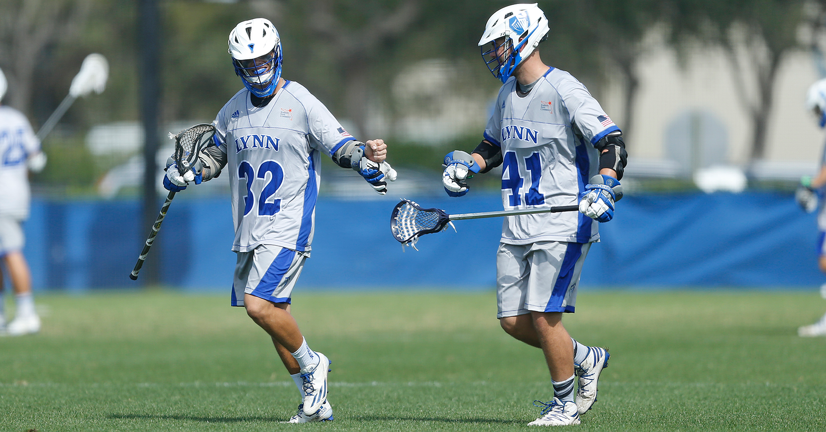 No. 12 Lacrosse Grinds out 12-8 Road Clash; Jerhoff Breaks Scoring Record