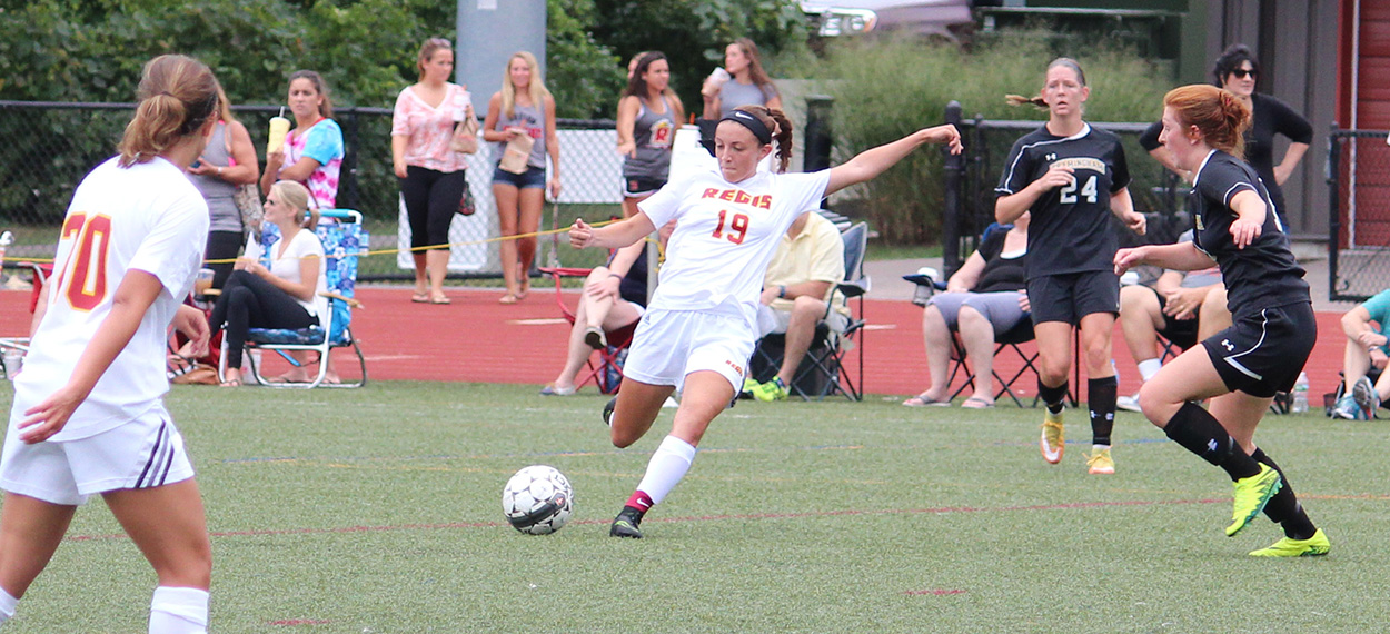 Women's Soccer Scores Early And Often In 5-1 Win At Bay Path