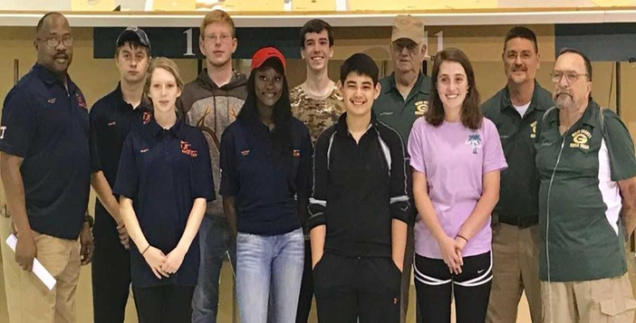 Rifle Team Advances to State Championship with Sectional Victory over Turner County