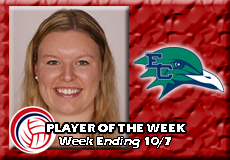Zoey Gifford-Endicott, Women's Volleyball: Player of the Week