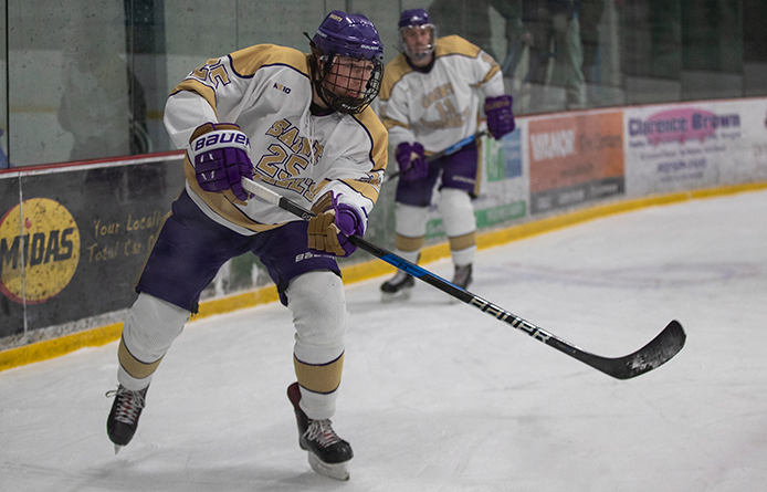 Men's Ice Hockey Drops NE10 Matchup Against Assumption in Overtime