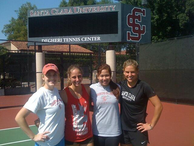 Women's Tennis Kicks Off Season With Four Seniors Setting High Goals