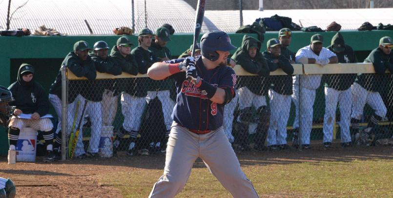 Senior Rich Guglielmi had two home runs and five RBI in the nightcap victory over the Thorobreds...