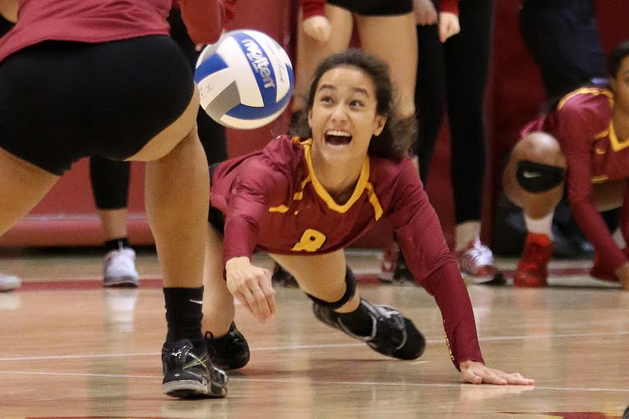 Valiant Effort, But Women's Volleyball Loses SCC Finale