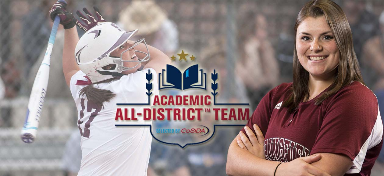 Drobiak Collects CoSIDA Academic All-District Honors