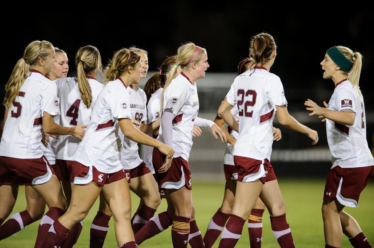 Santa Clara Women's Soccer Advances to NCAA Tournament Second Round with 2-1 Win Over Long Beach State