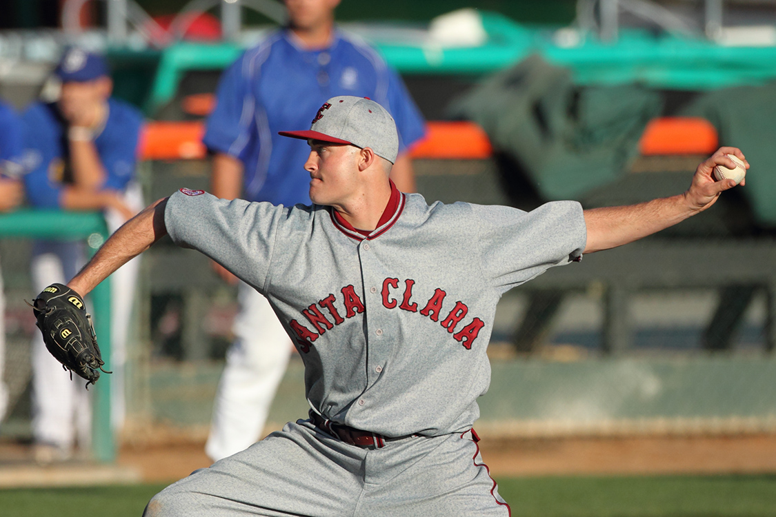 Powell Fansler Named WCC Pitcher of the Month for February