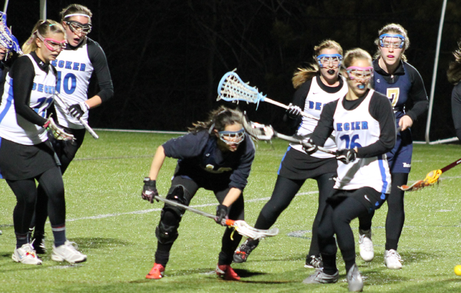 Mossey Lifts Women's Lacrosse In Win Over Mass. Maritime