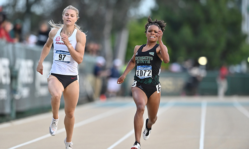 SHE'S MOVING ON: BEDINGFIELD QUALIFIES FOR NATIONALS WITH RECORD BREAKING 200