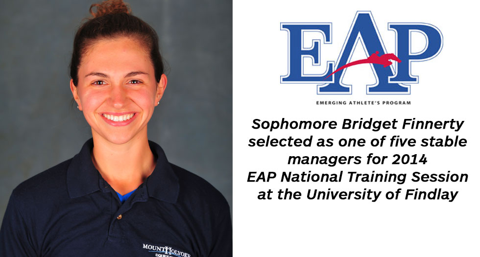 Finnerty Selected for EAP National Training Session
