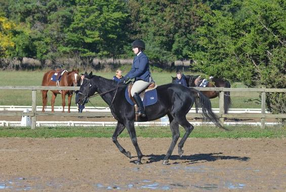 Equestrian Places Third in Bergen