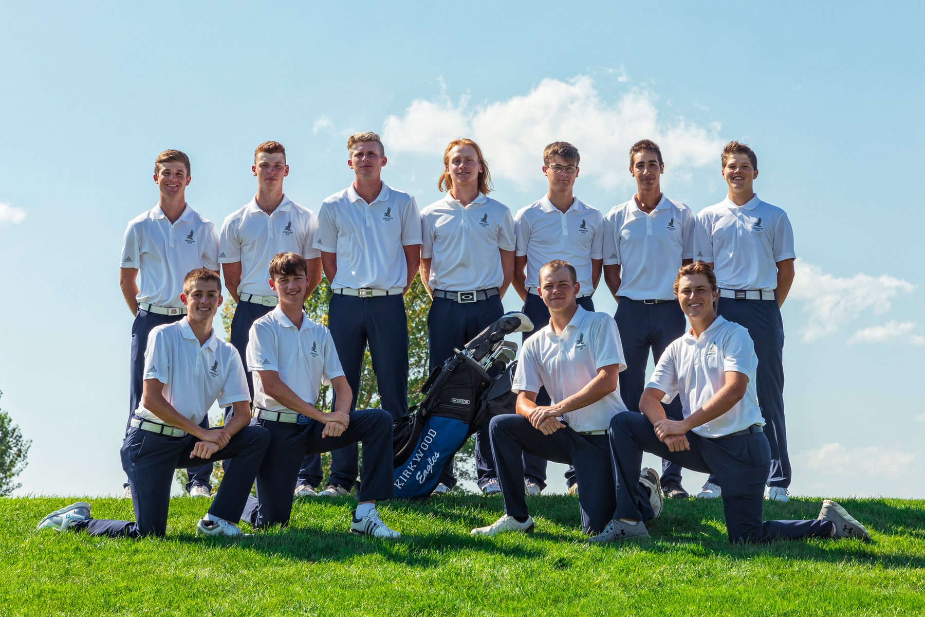 Peters, Eagles win National Preview Golf Tournament
