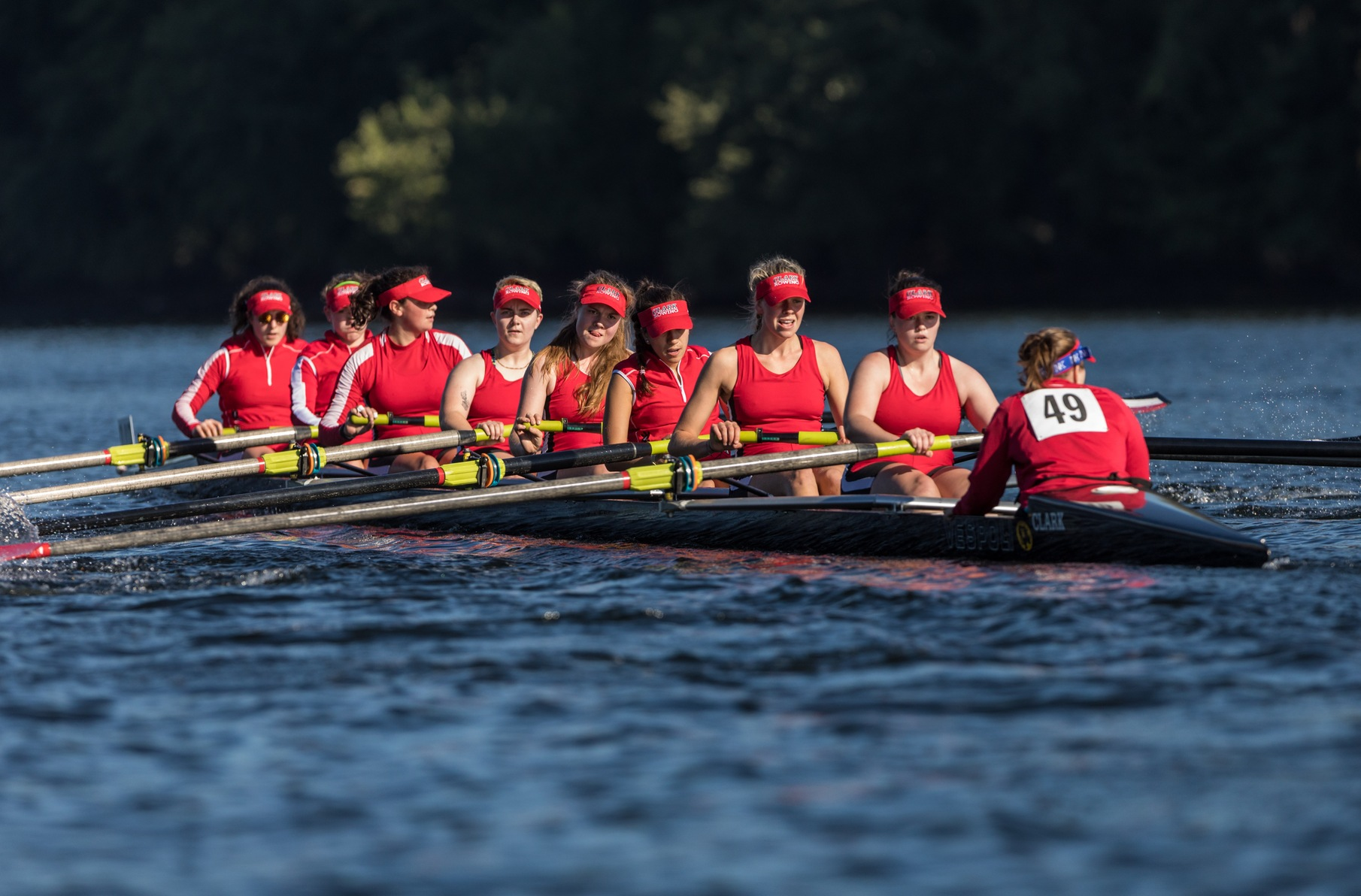 Rowing Competes with Top Programs in the Country