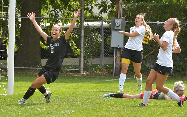 Loran Wyrough's Penalty Kick in 79th Minute Lifts Wilmington Women's Soccer, 1-0, Past Chestnut Hill