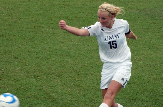 Herold Leads UMW Women's Soccer Past Marymount, 6-2