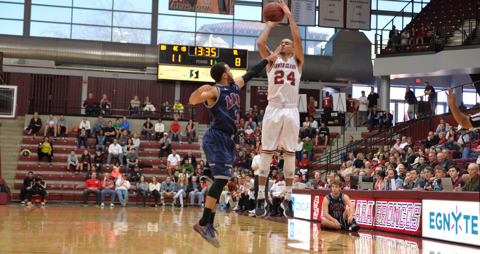Men Travel to Saint Mary's Thursday As Rivalry Continues