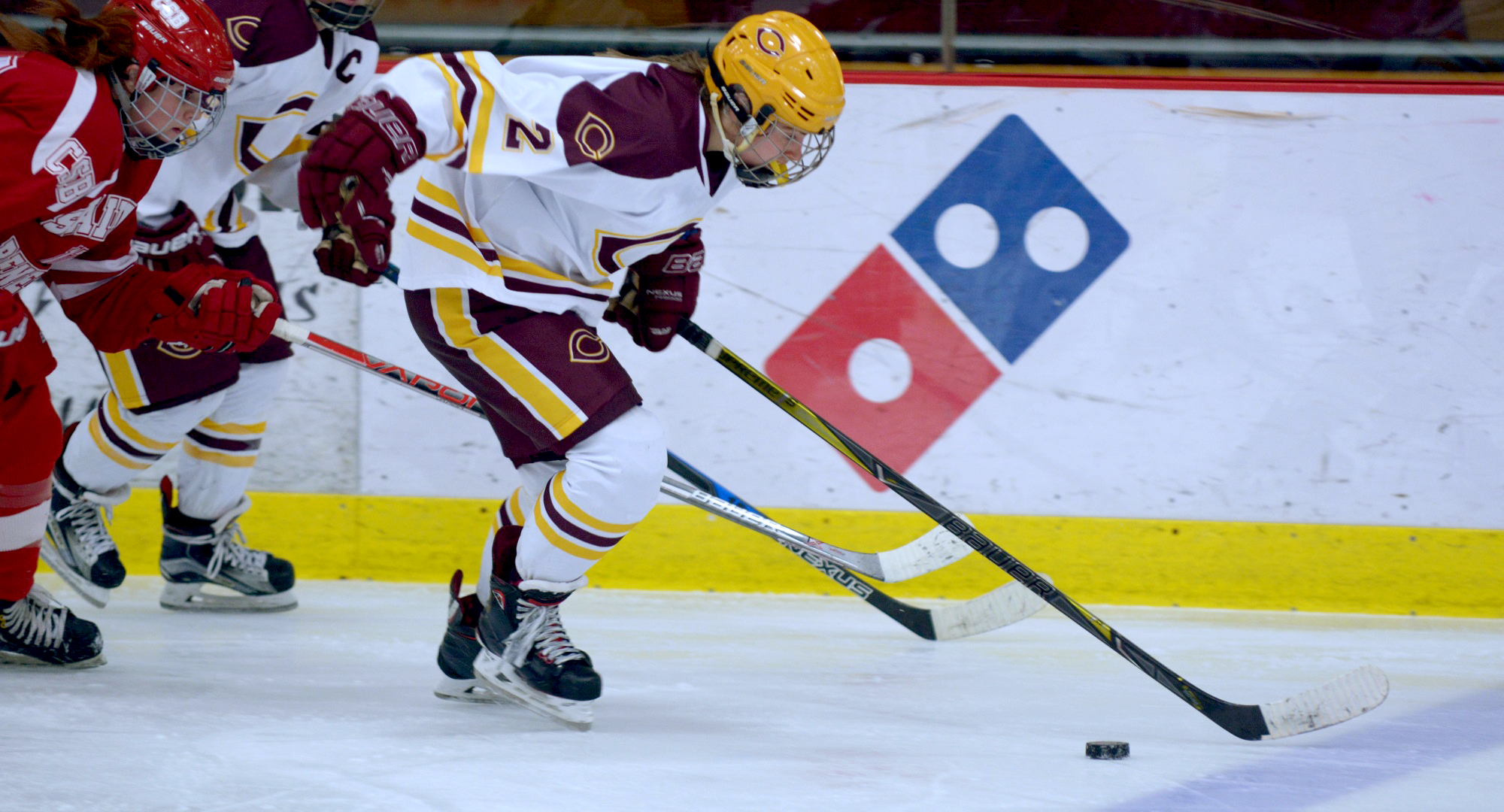 Junior Amanda Flemming recorded four points in the Cobbers' 7-4 win at Northland.
