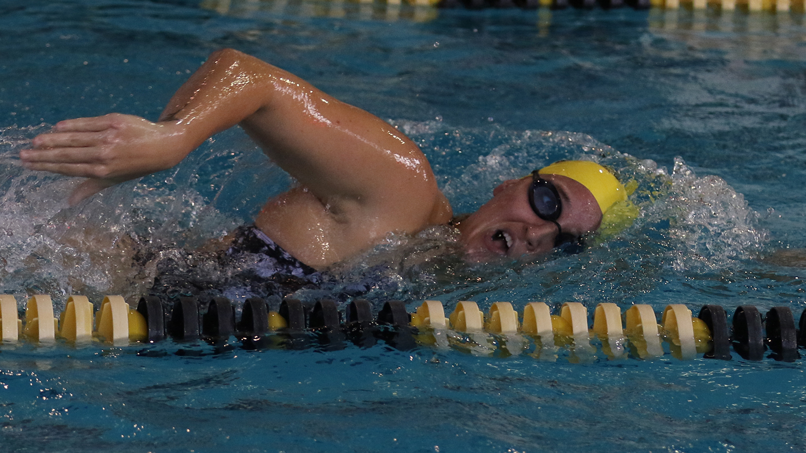 Russell Sets New School Record in 500 Free on First Day of Trinity Invite