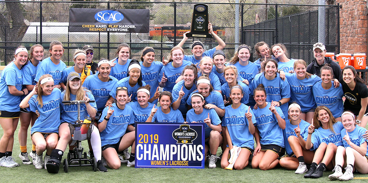 Colorado College Crowned SCAC Champions
