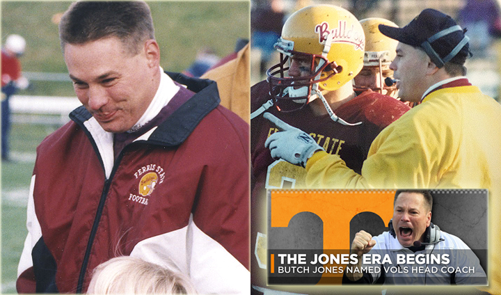 From Big Rapids To The SEC: Ferris State Alum Butch Jones Named Tennessee Head Coach