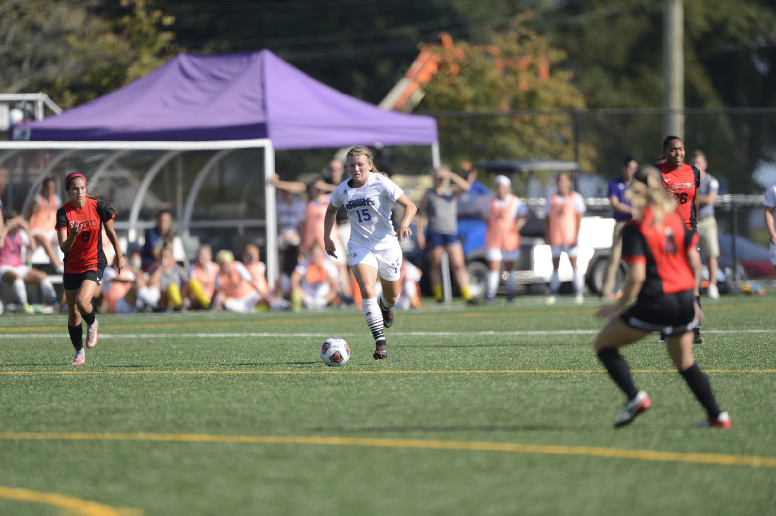 Women's Soccer Plays To A 2-2 Double Overtime Tie At Queens (N.Y.) College