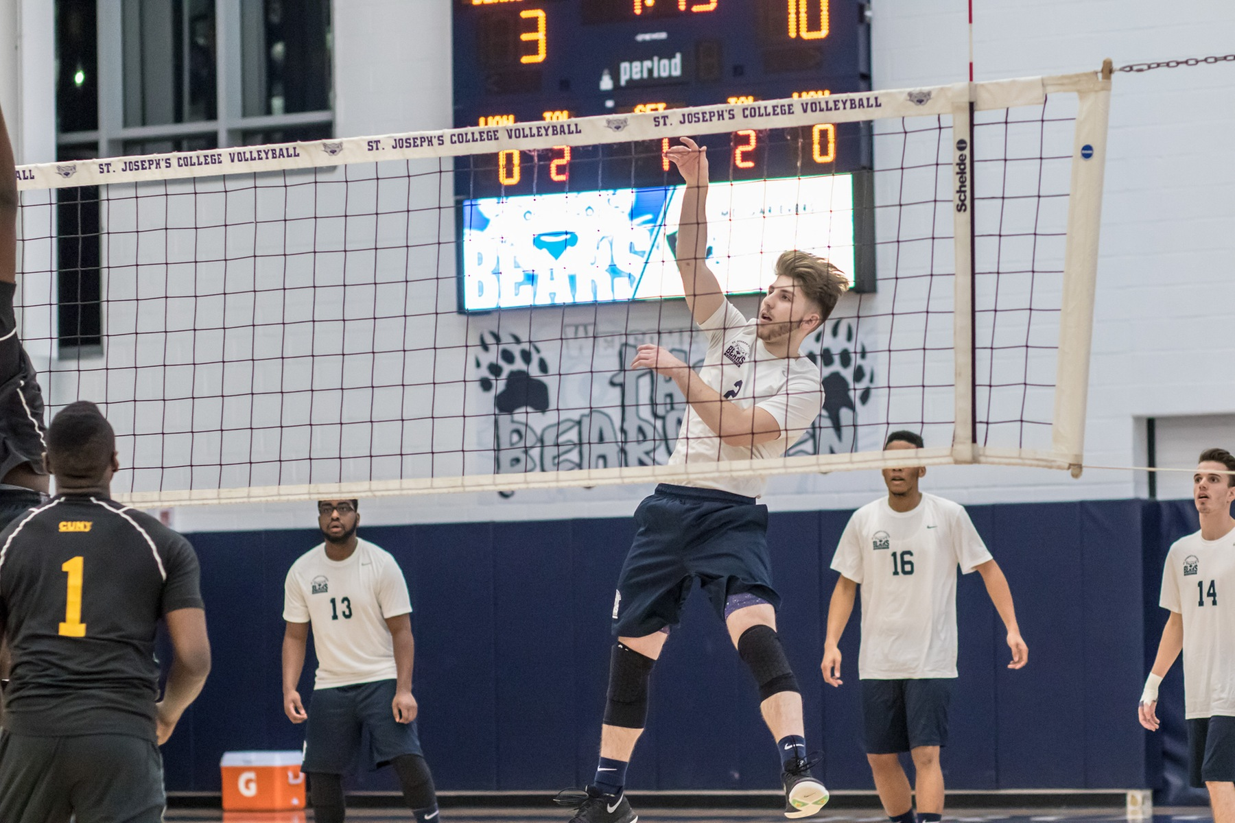 Men's Volleyball Tripped Up by NJCU