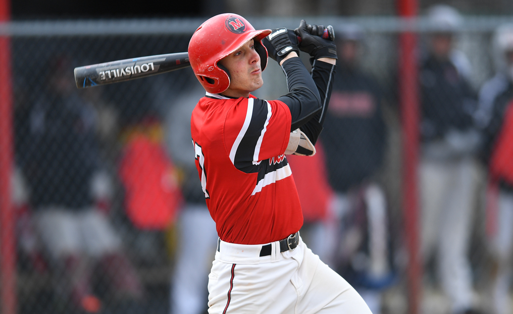 Baseball Completes Sweep of Lesley
