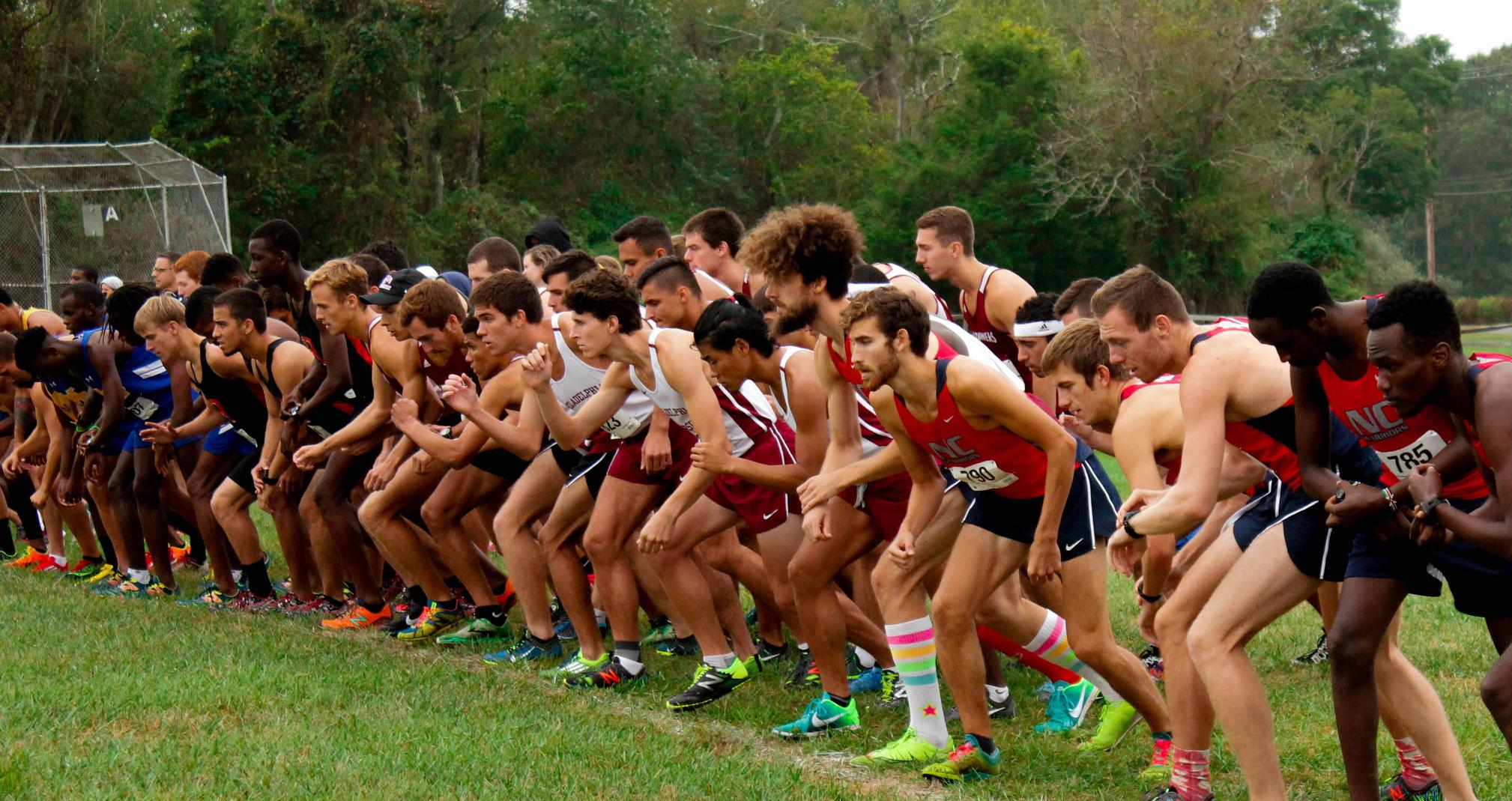Men's Cross Country finishes 4th at Stockton University Invite