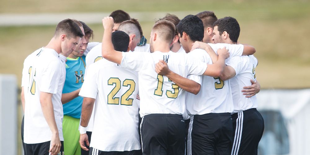 Spartans End Men's Soccer's Five Game Winning Streak, 2-0