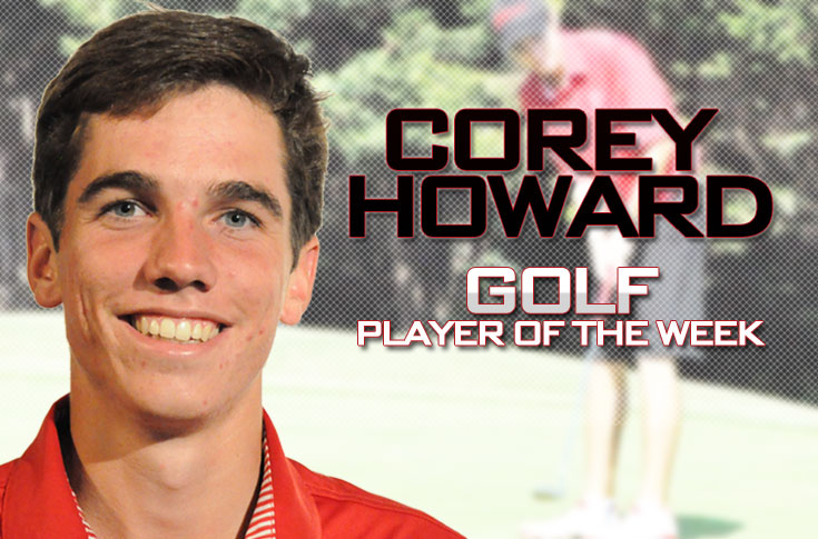Golf: Howard earns second USA South Player of the Week award