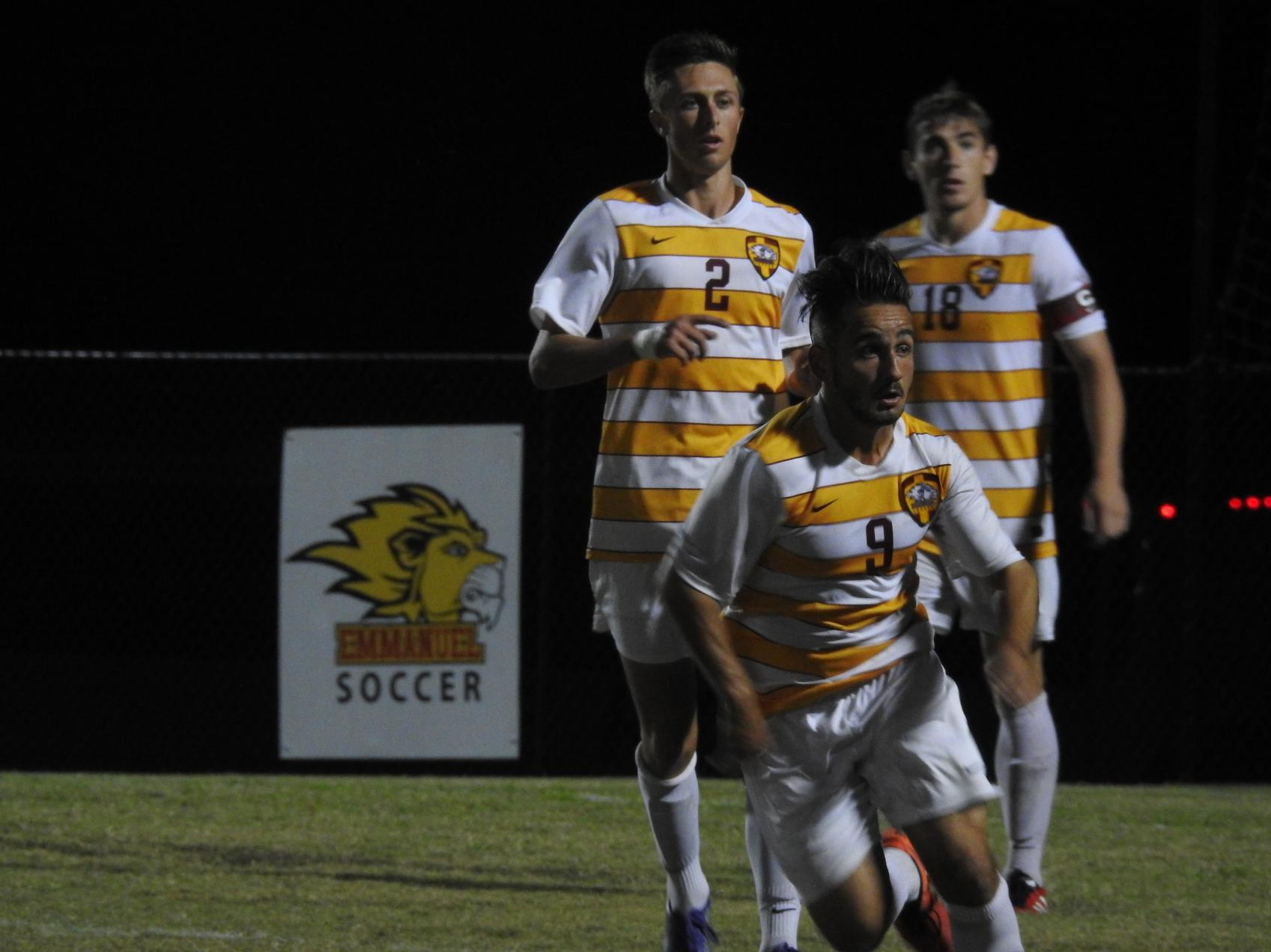 The Lions Soccer Team Fall in Double Overtime