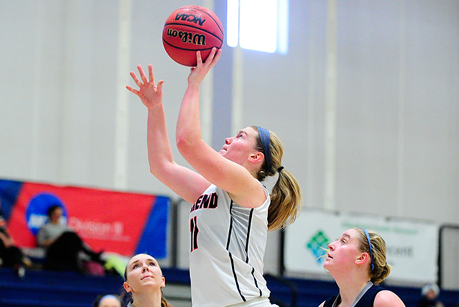 Mt. Aloysius Surges Late To Stop Women's Basketball