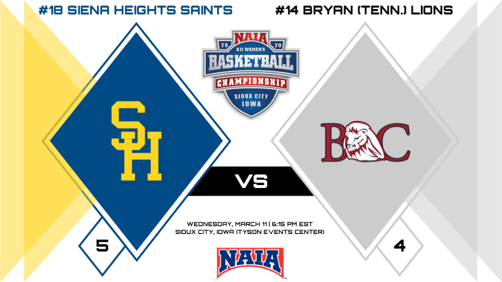 Women's Basketball Faces Bryan (Tenn.) In the Opening Round of the NAIA Championship