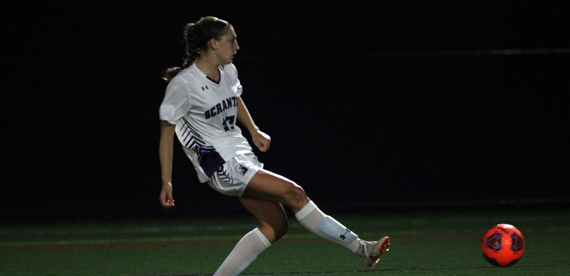 Hope Drewes set up Corinne McDonald for the game's only goal in Scranton's 1-0 win at Susquehanna on Saturday.