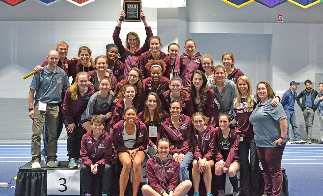 Maroon Women's Track & Field Capture UAA Title; Men Third Behind Four Event Titles