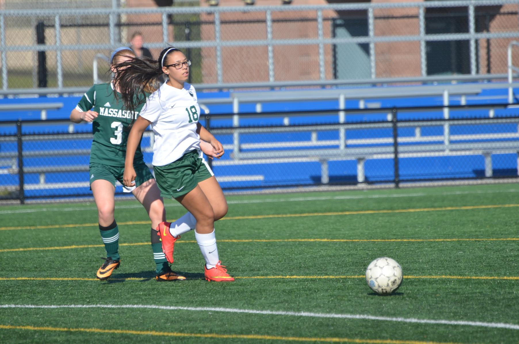 Women's Soccer Outplayed By Talented Holyoke Team By A Score Of 6-1