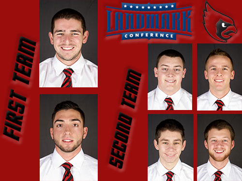Six Members of CUA Baseball Earn All-Landmark Honors