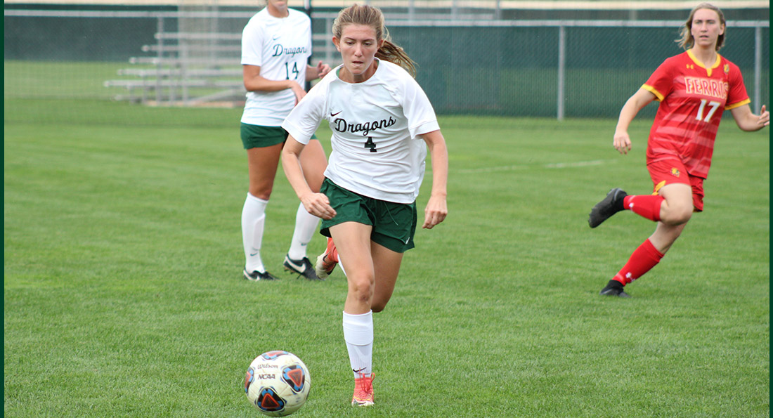 Lauryn Grcic and the Dragons came up short against Ferris State 4-0.