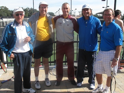 Ducey Cup Kicks Off Men's Tennis Season
