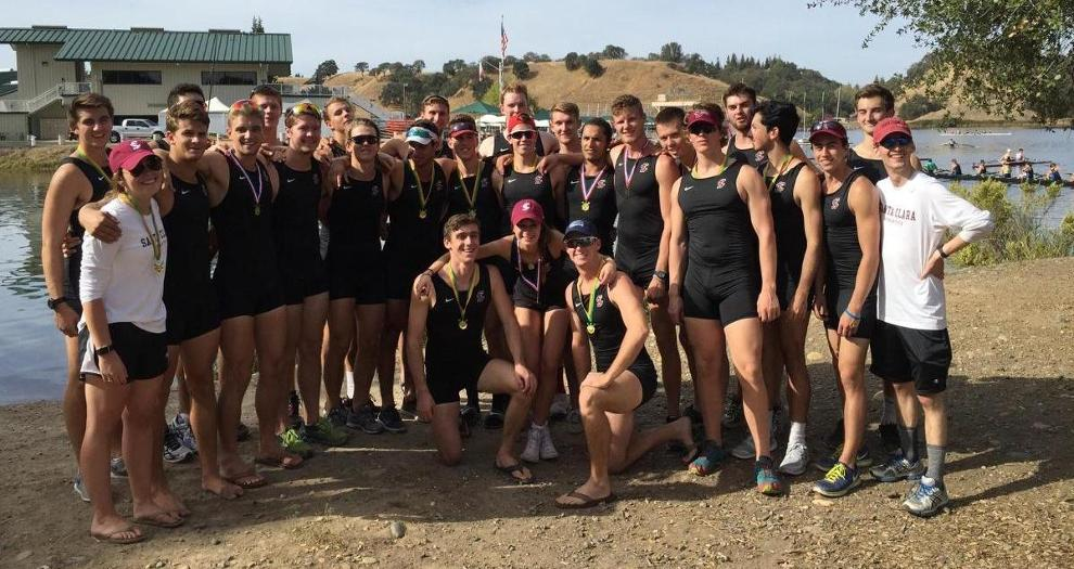 Men's Rowing Notches Two First-Place Finishes at Head of the American