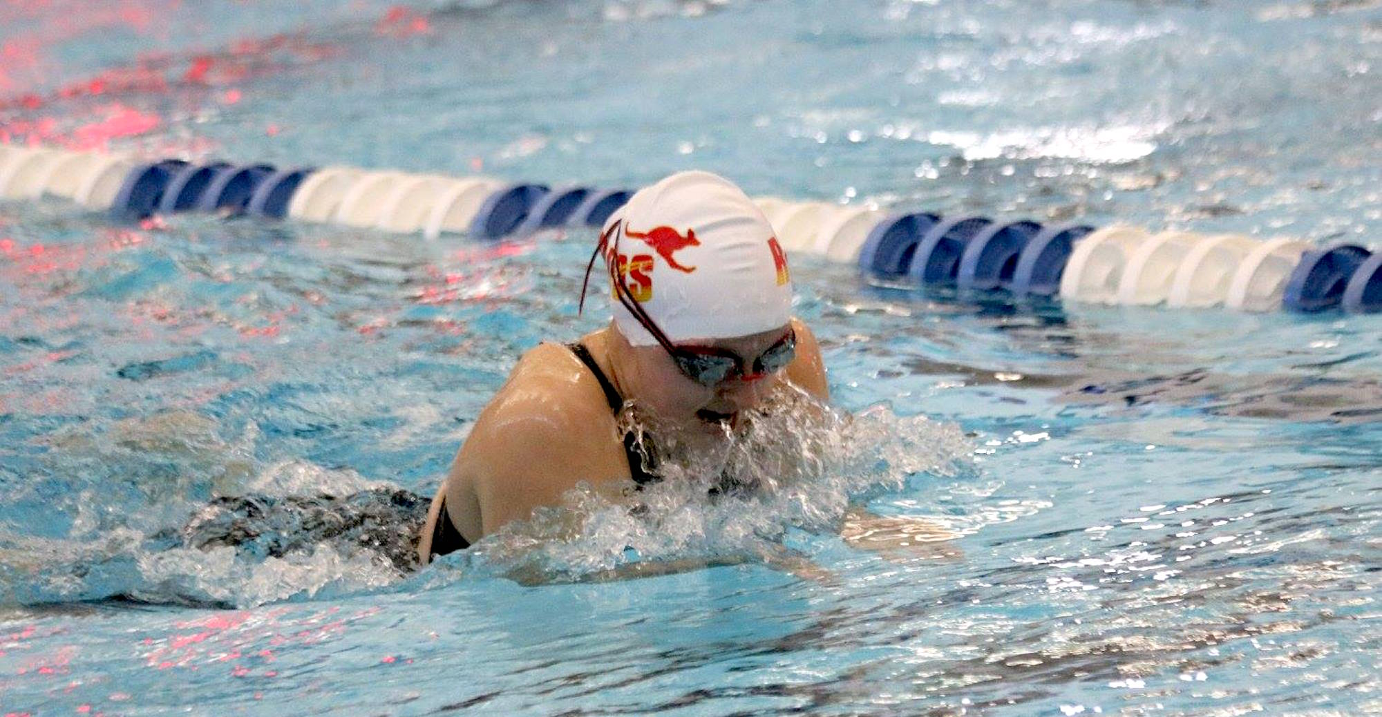 Southwestern Tops 'Roo Women's Swimming