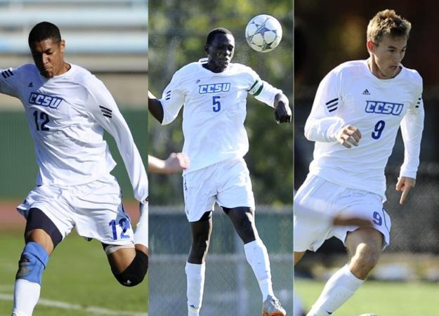 Men's Soccer Lands Three on All-Region